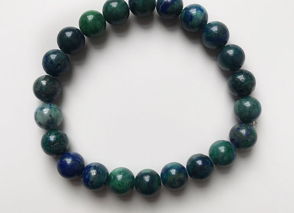 Chrysocolla Beaded Bracelet