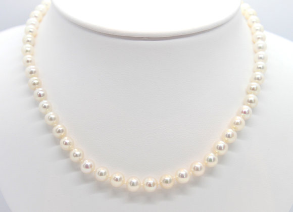 "18"" Fresh Water Pearl Strand Necklace"