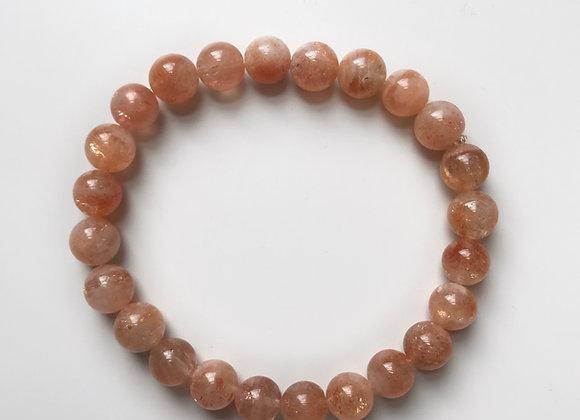 Sunstone Beaded Bracelet