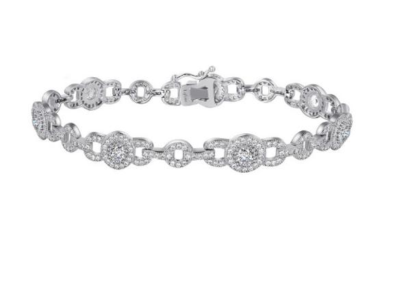 Silver Brilliant Cut Tennis Bracelet