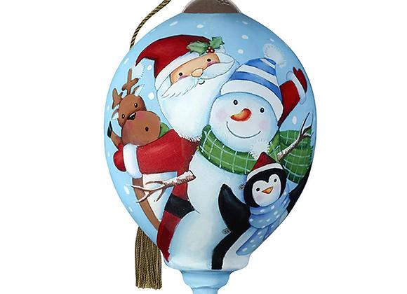 """""""Santa's Polar Pals"""" Ornament"""