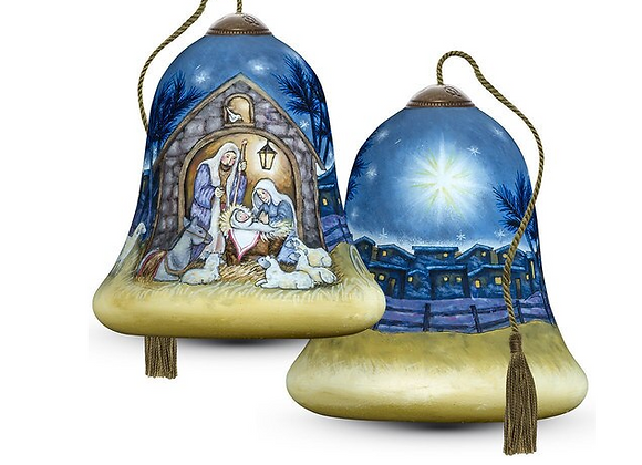 """""""Away In A Manger"""" Ornament"""