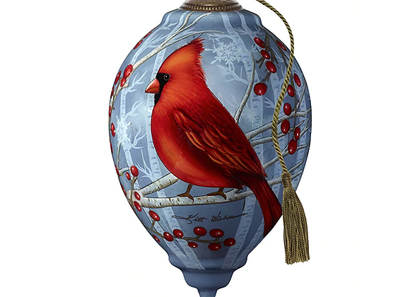 """Peace Cardinal"" Ornament"