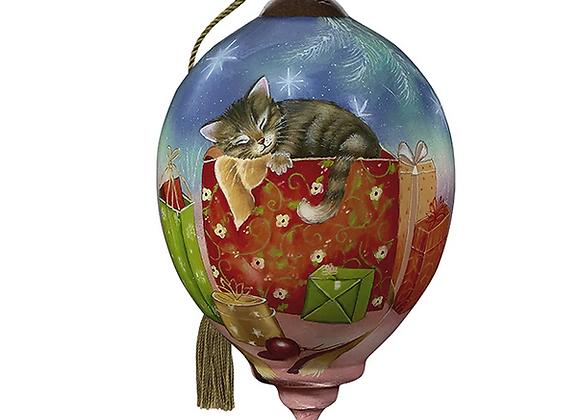 """""""Christmas Kitten"""" Ornament"""