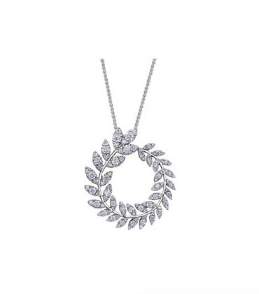Diamond Wreath Pendant