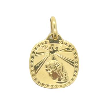 Yellow Gold Confirmation Pendant