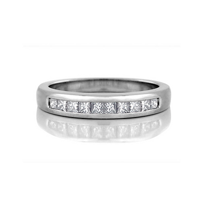 Princess Cut Channel Set Diamond Band (0.30 carat)