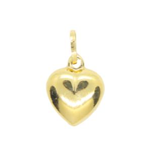 Yellow Gold Small Heart Pendant