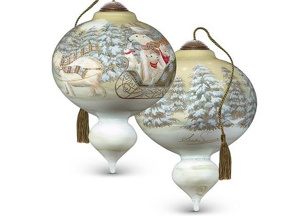 """Arctic Sleigh Ride"" Ornament"