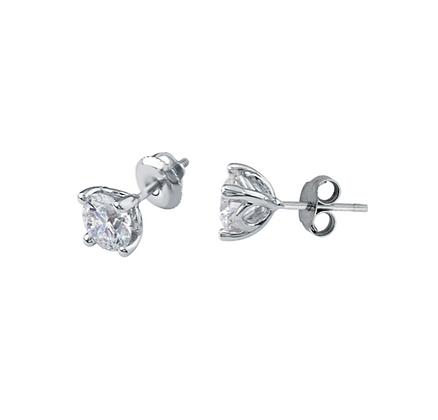 Round Cut Canadian Diamond Studs (0.10 carat)
