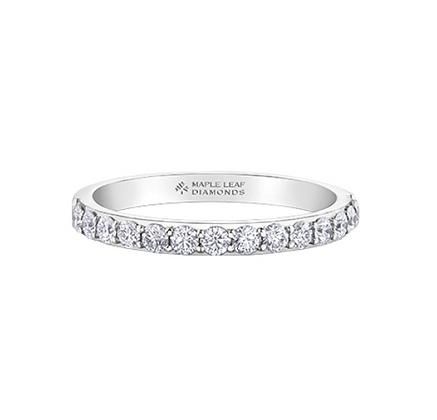 Round Cut Canadian Diamond Band (0.20 carat)