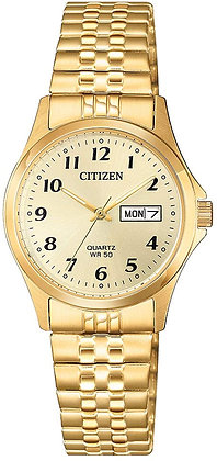 CITIZEN QUARTZ LADIES GOLD STAINLESS STEEL