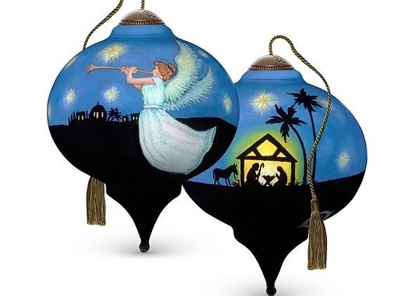 """""""Joyful & Triumphant"""" Nativity Ornament"""