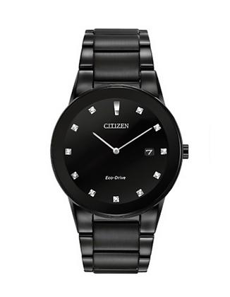 Citizen - All Black Minimalist Watch