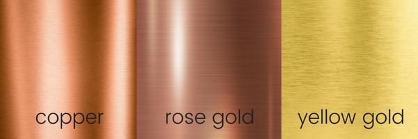 Rose Gold Copper Jewelry