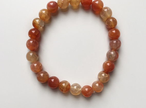 Fire Crackle Agate