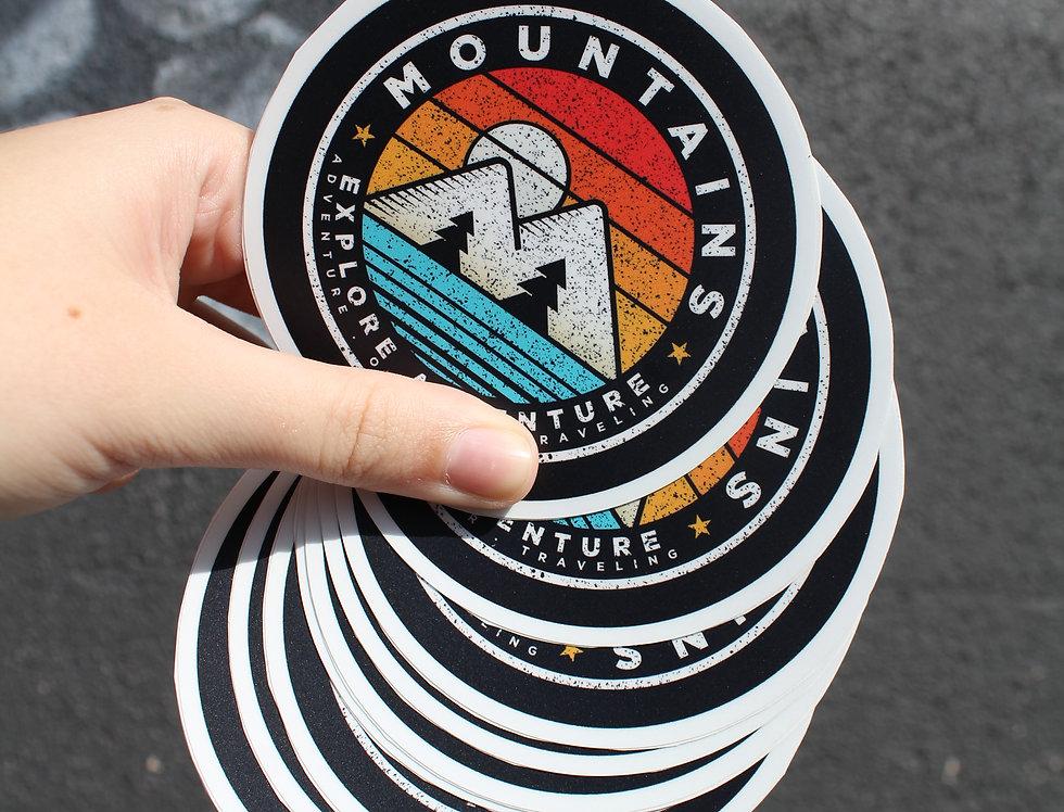 Mountain Adventure Sticker