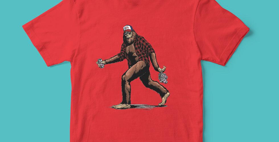 Bigfoot & Beer T-Shirt