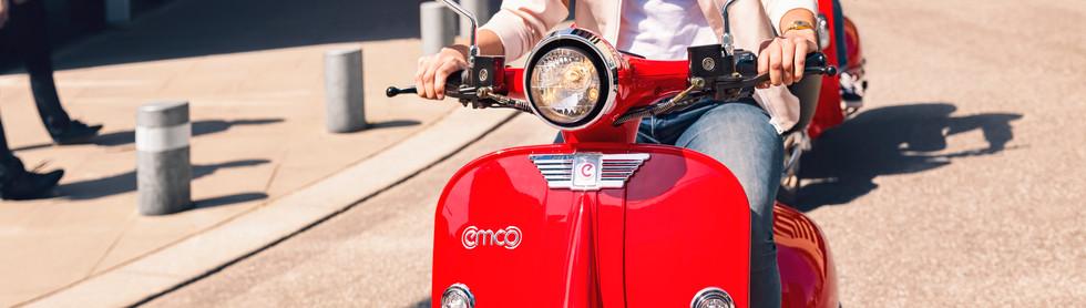 emco e-scooter Nova Sharing zwei Persone