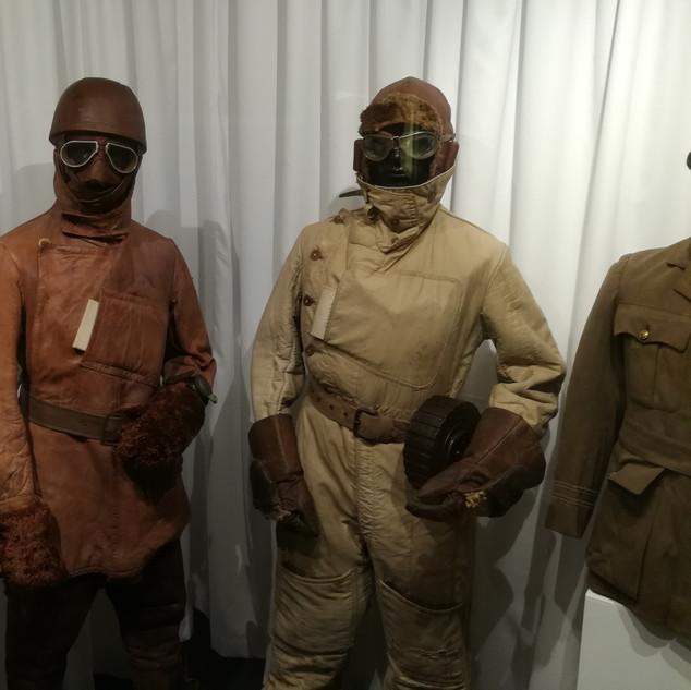 Original WWI pilot uniforms