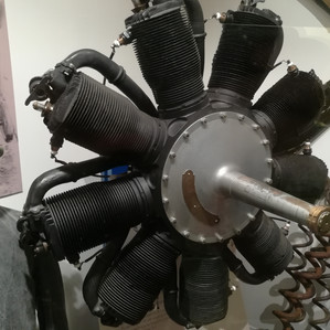 Gnome engine as used in the Nieuport planes