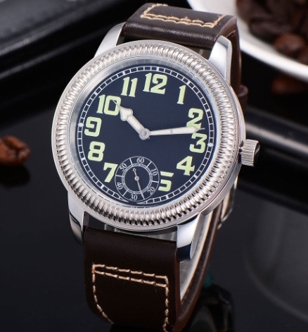 NP-11 watch with crenelated case