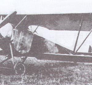 Nieuport 10 in action