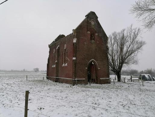 Sint-Anna kapel in de sneeuw