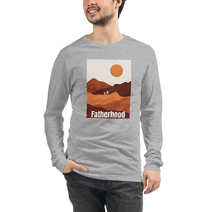 Father and Son Unisex Long Sleeve Tee