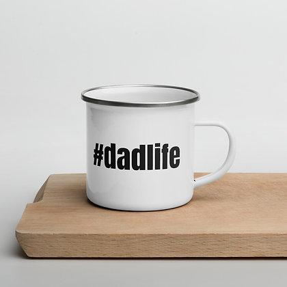 Dad Life Enamel Mug