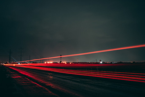 The Red Line at Night.JPG