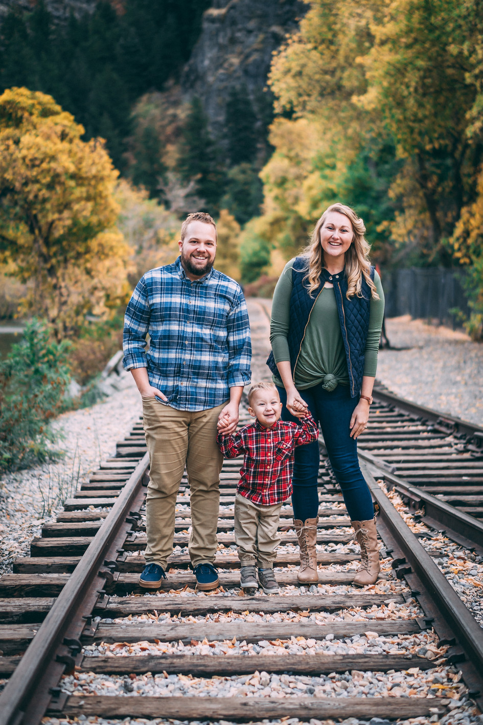Family Fall Photography in Provo