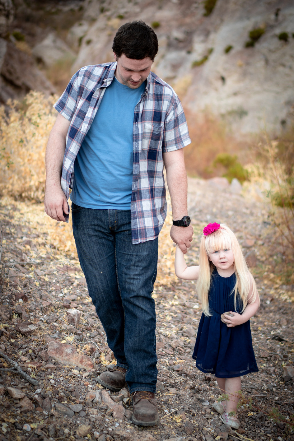 Father and Daughter Photography In Utah County