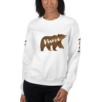 Mama Brown Bear Sweatshirt