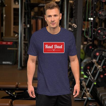 Rad Dad Vintage Short-Sleeve Unisex T-Shirt