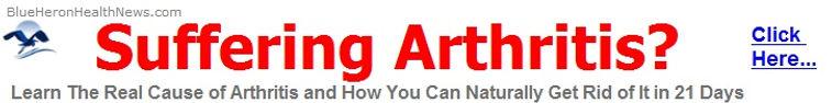Get rid of arthritis