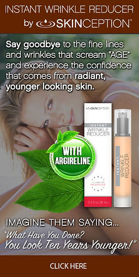 Instant wrinkle removal serum
