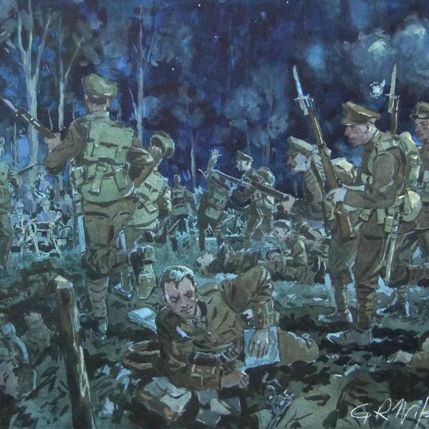 Attack on Kitchener's Wood, 1915.jpg