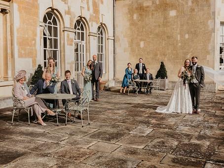 A Small, Intimate Wedding at Hartwell House near Amersham, Buckinghamshire