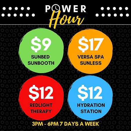 $1 TANS NEAR ME - POWER HOUR