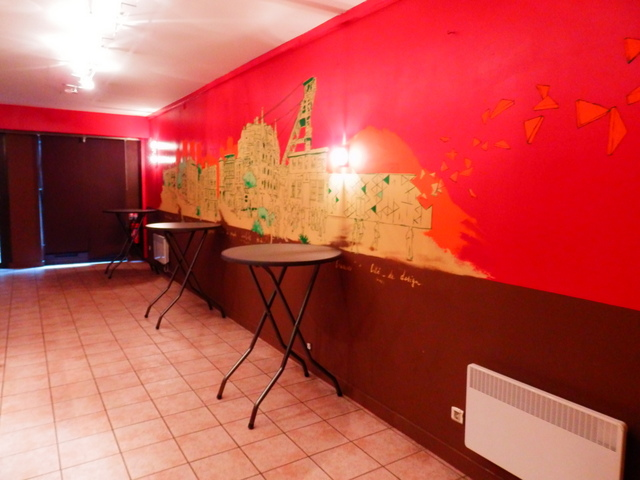 Bar Gaga fresque