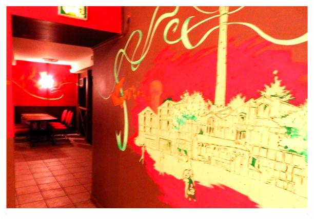 Passage A salle Gaga bar à salle 2