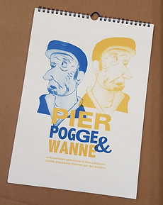 Pier Pogge & Wanne verjaardagskalender
