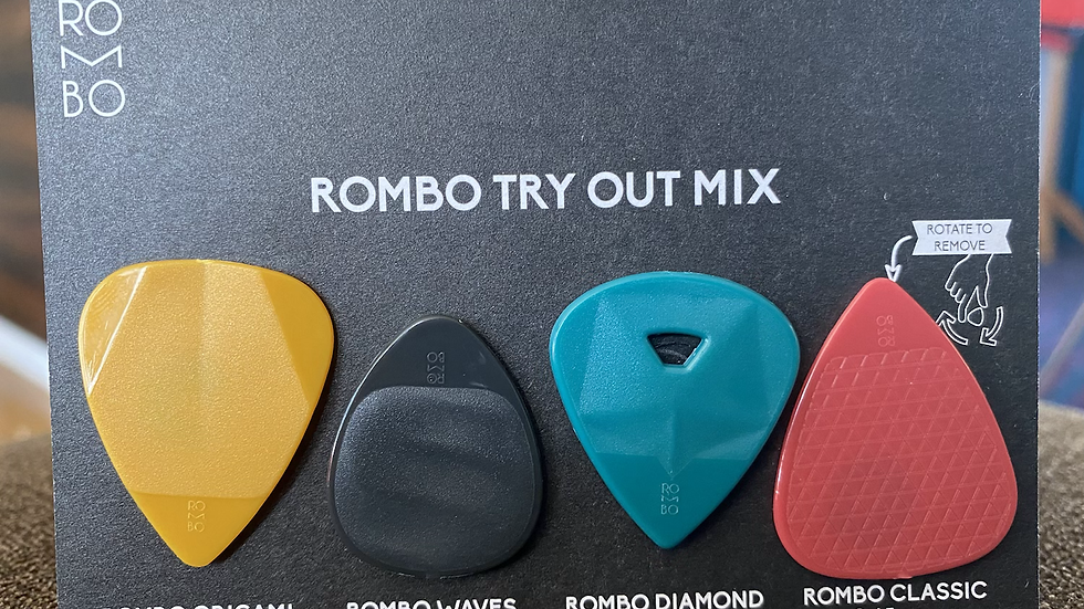 Rombo try out mix - guitar picks