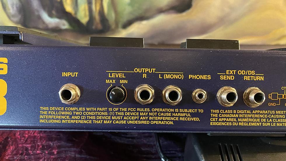 Boss GT-3 multi effects processor and world ending noise maker