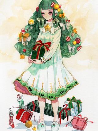 クリスマスツリーちゃん