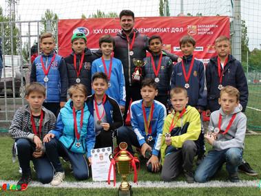 Команда «Академия футбола» - 2006 выступит в юбилейном Кубке ДФЛ в Анапе.