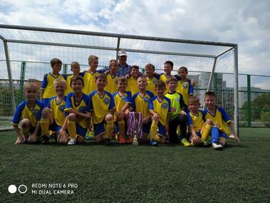 Команда 2010 г.р. - победитель Первенства РБ по футболу сезона 2019