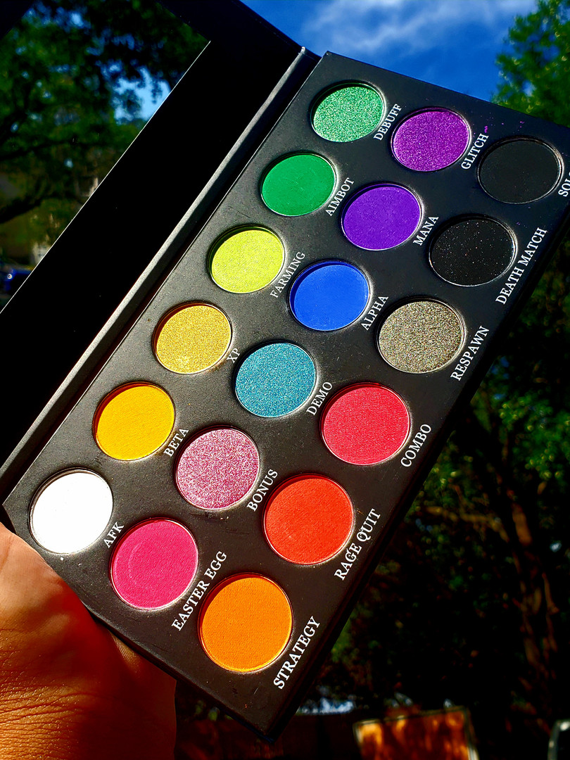 Game Over Palette