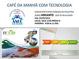 ASEC CETESB CAFÉ DA MANHÃ COM TECNOLOG
